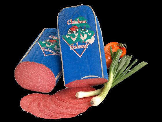 Chicken Salami 1a - Geflügelsalami