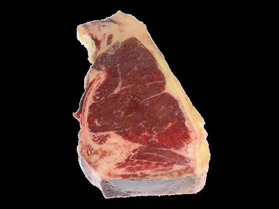 Alte Kuh, Dark red old cow, Sirloin Steak aus Galizien Culetta