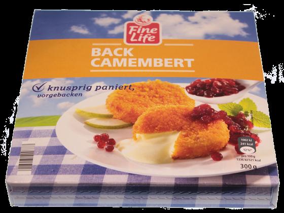 Back Camembert vorgebacken