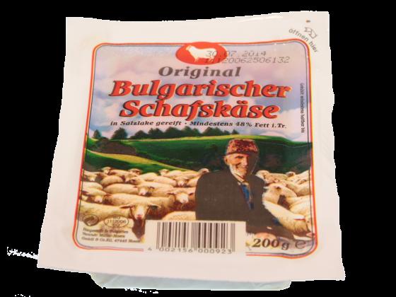 Bulgarischer Schafskäse