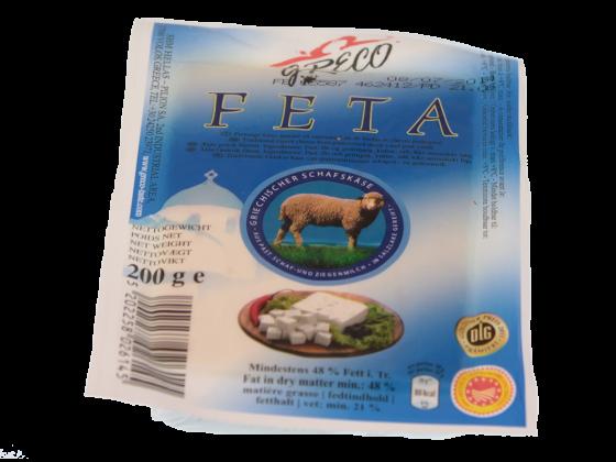Feta griechischer Schafskäse 48 % Fett i.Tr.