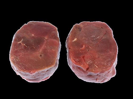Hirsch Steak Portionszubereitung - fein mariniert
