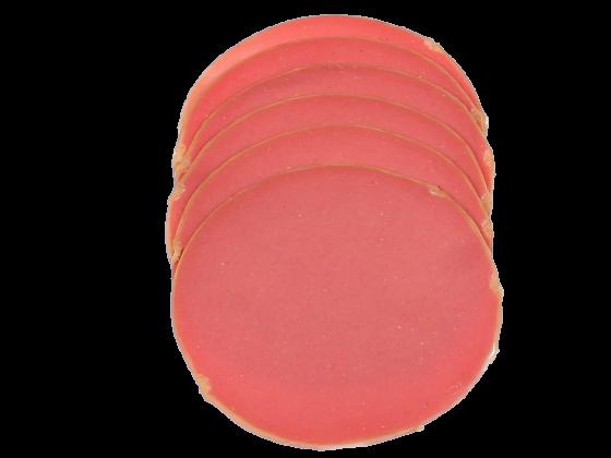 Cervelatwurst mit Truthahn in Fettende