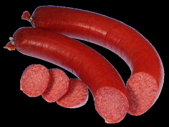 Knoblauchwurst im Ring