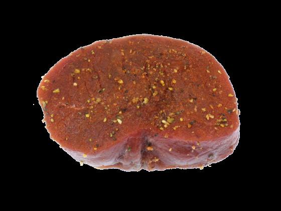 Känguru Steak Portionszubereitung - fein mariniert