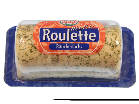 Roulette Mini Räucherlachs 60% Fett i.Tr.