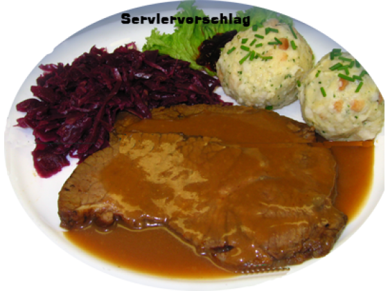 Sauerbraten Rheinische Art