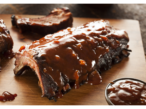 Spare Ribs American Style gegart