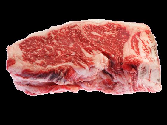 Wagyu Sirloin Steak Bone In - 100% Wagyu Kobe Style - Cut 7-8