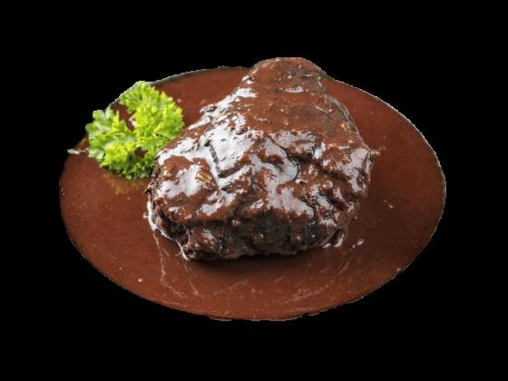 ochsenbacke-gegart