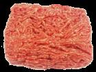 Kalbshackfleischfleisch, bestes mageres Metzgerhackfleisch rein Kalb