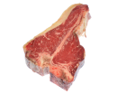 Alte Kuh, Dark red old cow - T-Porterhouse Steak aus Galizien