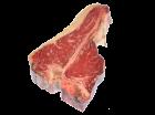 Alte Kuh, Dark red old cow - T-Porterhouse Steak aus Galizien