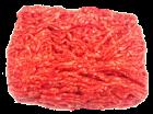 Lammhackfleischfleisch, bestes mageres Metzgerhackfleisch rein Lamm