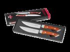 SteakChamp Messer mit Holzgriff
