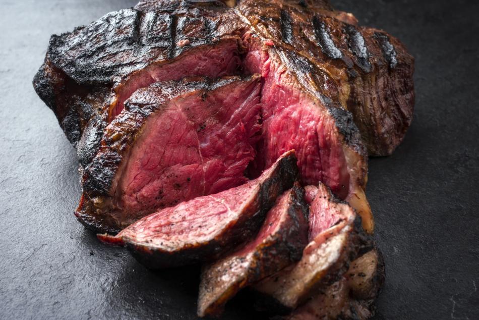 Alte Kuh, Dark red old cow - T-Bone Steak aus Galizien   - Zubereitungsempfehlung medium rare