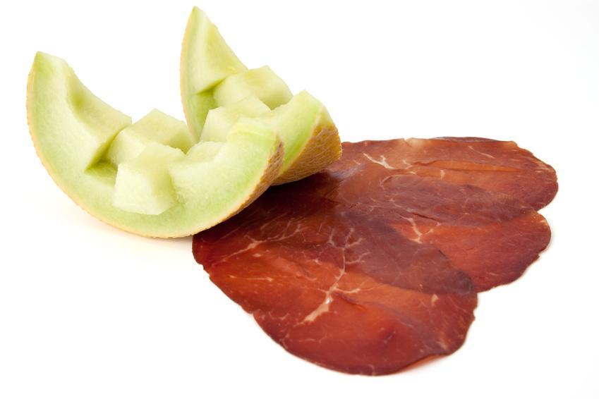 Bündnerfleisch - Serviervorschlag