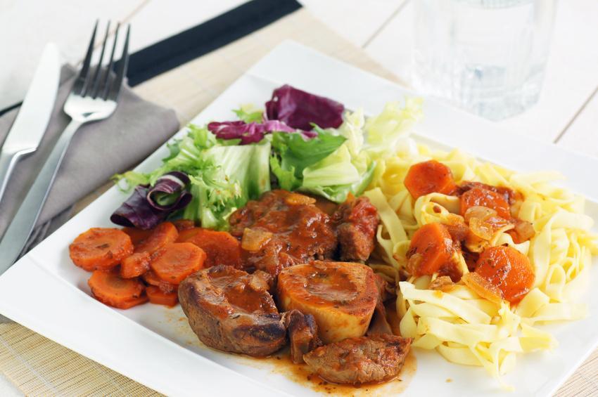 Kalbshaxe Osso-Buco vom deutschen Gourmetkalb - Serviervorschlag