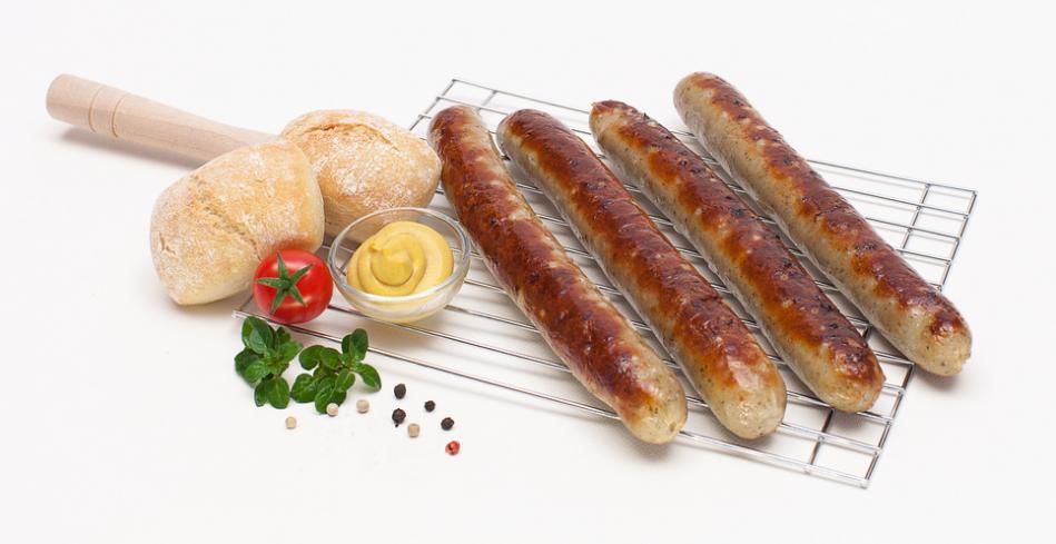 Bratwurst mit Gothaer original Gewürz - Serviervorschlag