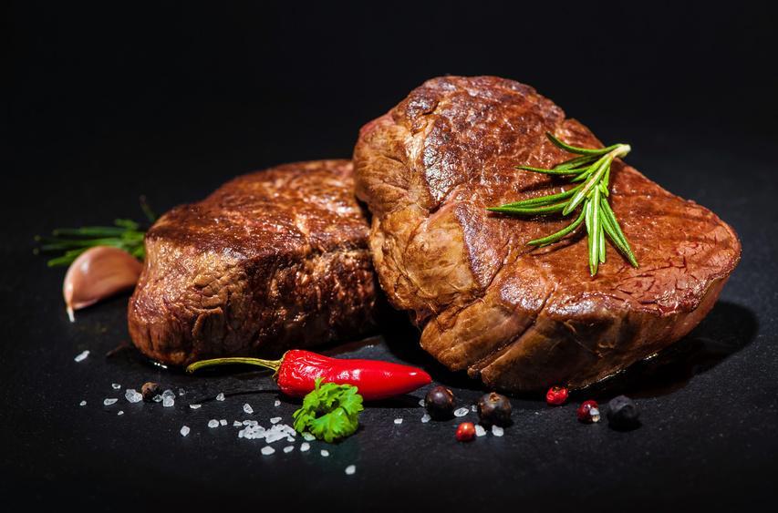 Argentinisches Rinderfilet mignon (kleines Steak aus der Filetspitze) -