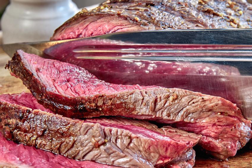 Argentinisches Roastbeef am Stück - Serviervorschlag