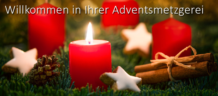 Adventsmetzgerei