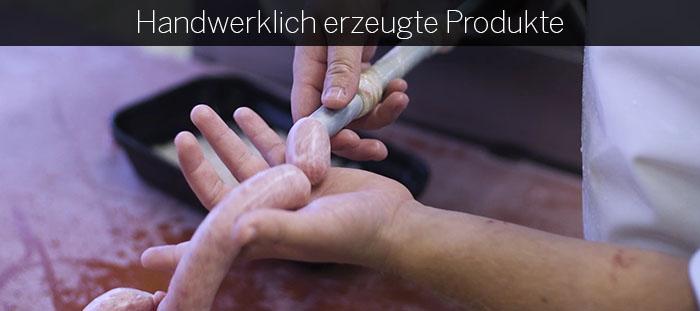 Handwerkliche Produkte