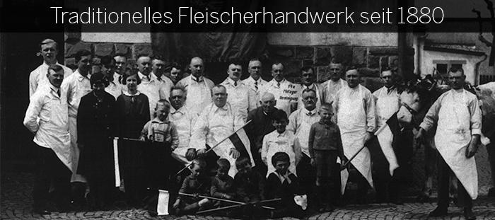 Traditionelles Fleischerhandwerk